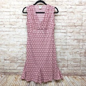 Old Navy Fit Flare Dress Sleeveless Stretch Floral